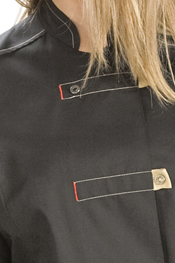 Long sleeve safari-style ladies tunic