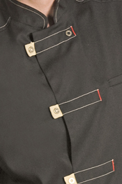 Short sleeve safari-style mens tunic