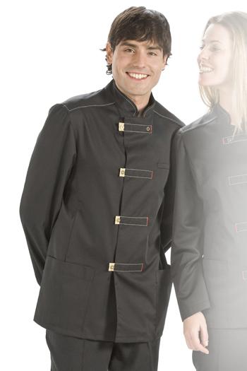 Long sleeve safari-style mens tunic