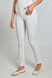 Pantalón push up blanco 8276