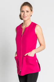 Tunic fuchsia simple sleeveless