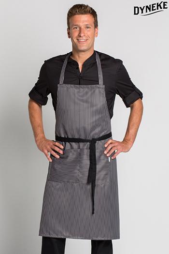 Bib apron.