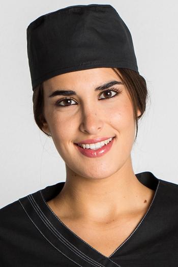 Surgical cap black
