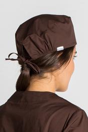 Gorro sanidad unisex marrón