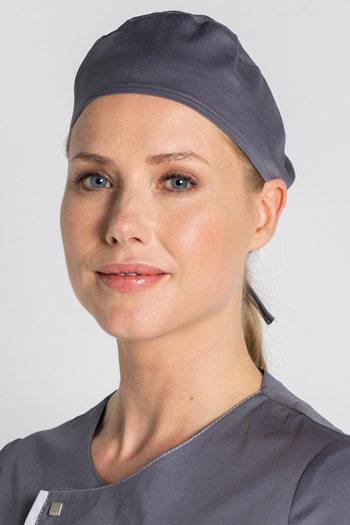Surgical cap gray
