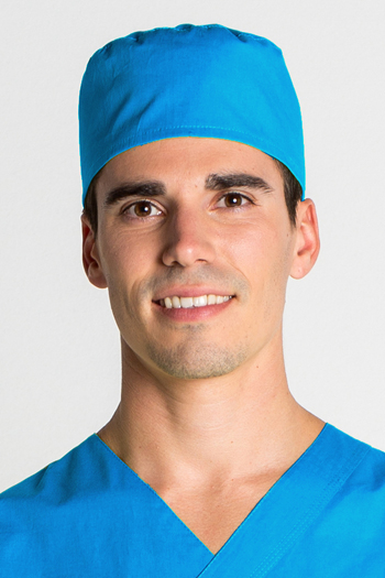 Surgical cap Turquoise
