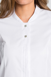 White tunic lady long sleeve