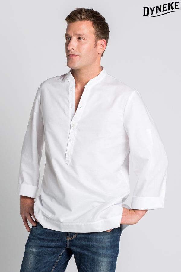 Venta barata promoción especial precio más bajo con Camisa ibicenca para caballero. Camisa de trabajo estilo ...