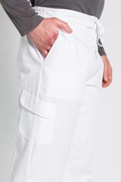 Pantalon caballero trendy blanco