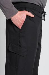 Pantalon caballero trendy negro