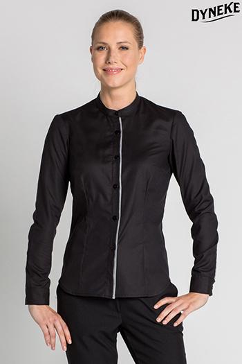 Camisa mujer cuello mao