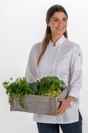 Chaq.mujer cocina microfibra