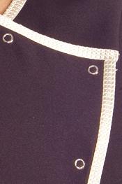 Shiny black stylist vest