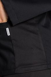 Black jacket grid on the side