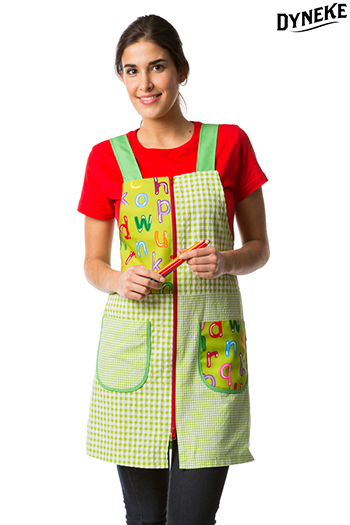 Green Jumper Dress Teacher 'Letters'