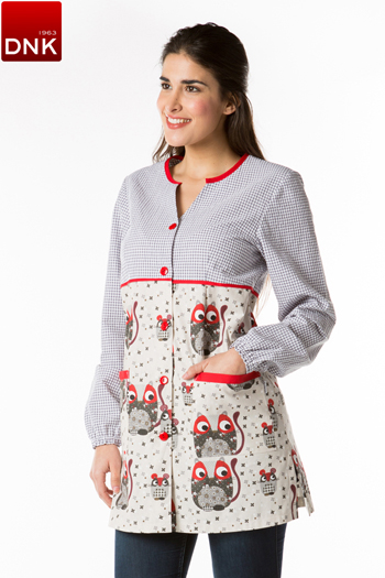 Cat and Mouse teacher smock