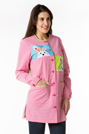 Bunny Teacher Smock