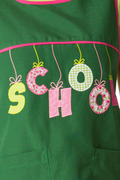 Estola loneta verde 'School'
