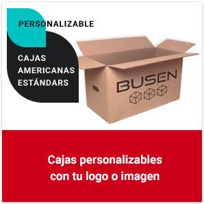 Cajas americanas estándars personalizables