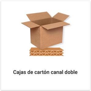 Cajas de Cartón Canal Doble