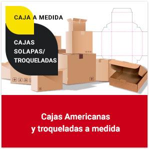 Cajas americanas y troqueladas a medida