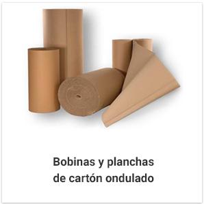 Bobinas y planchas de cartón ondulado