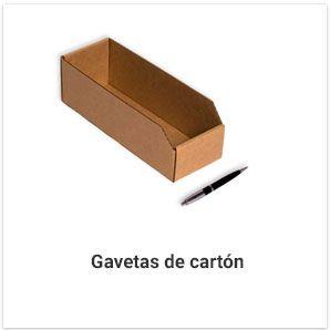 Gavetas de cartón