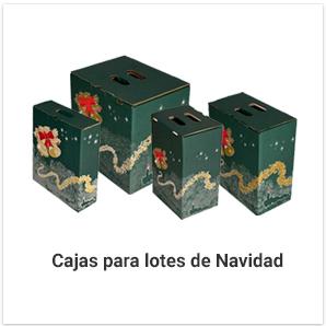 Cajas para Lote Navidad