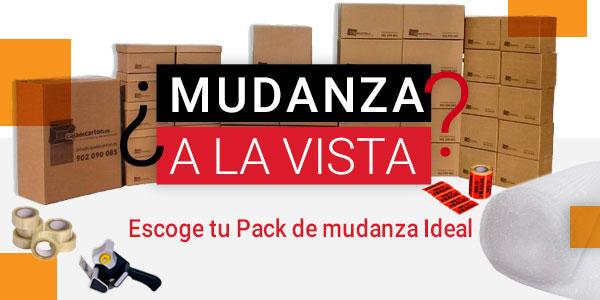 Packs de Cajas para Mudanzas