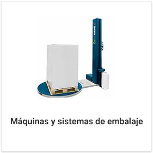 Máquinas y sistemas de embalaje
