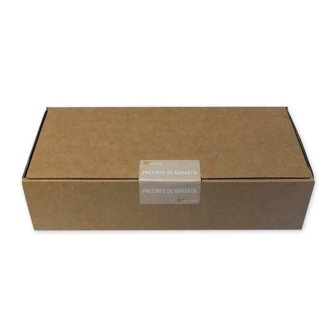Etiqueta adhesiva precinto de garantia troquelada
