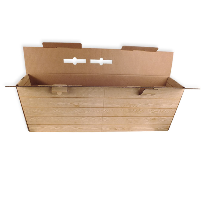 Caja de carton para jamones