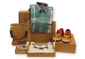 Embalajes y Cajas para Ropa, Moda y Complementos