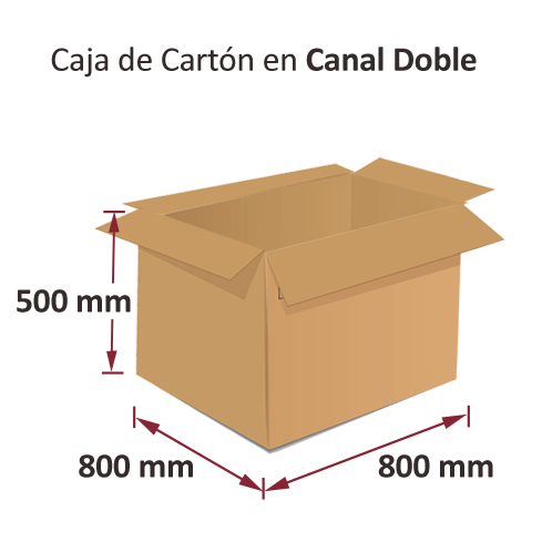 Caja de Embalaje 800x800x500mm