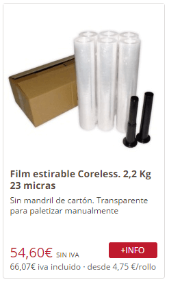 Film Coreless