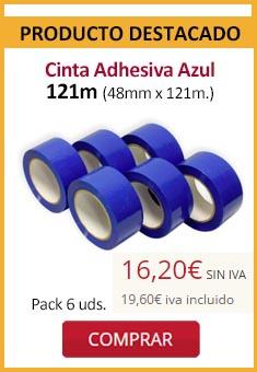 Cinta Adhesiva Azul 121m