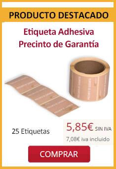 Etiqueta Precinto Garantía