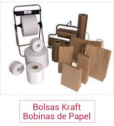 Bolsas de papel Kraft