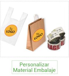 Material Embalaje personalizado