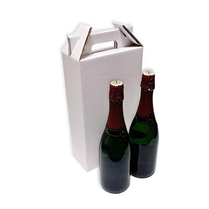 Caja transporte de 2 Botellas