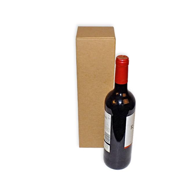 Caja para envío de 1 botella.