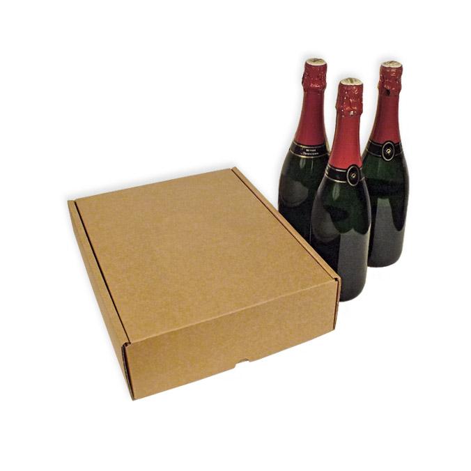 Caja para envío 3 botellas
