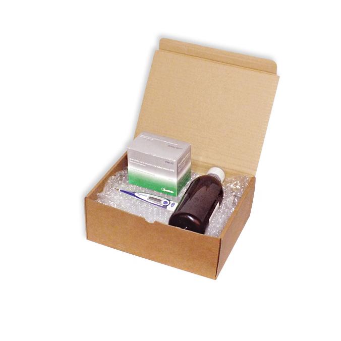 Caja de carton para envios 250x205x100mm