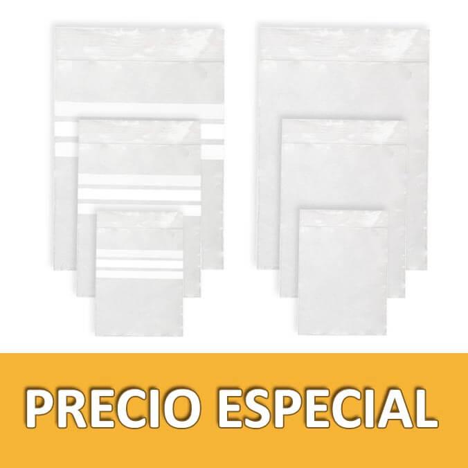 Bolsas Herméticas autocierre Grip 120x180 mm.