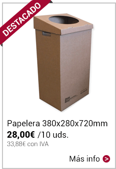 Papelera Canal Doble