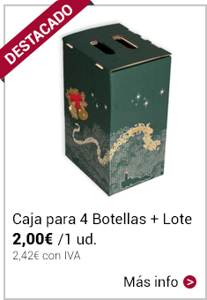 Caja 4 botellas + lote