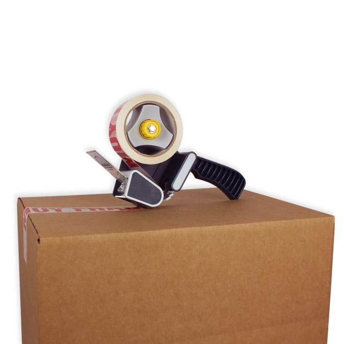 Pack cinta adhesiva cierra cajas polipropileno muy fragil 48x66mt