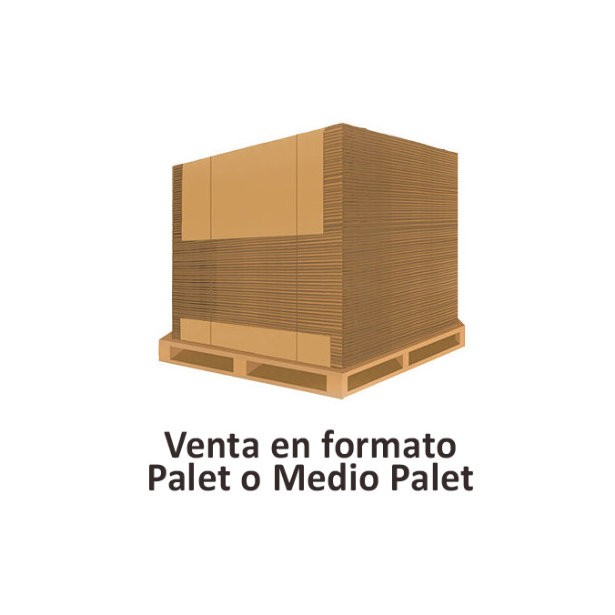 Cajas al por mayor canal simple 425x275x325mm