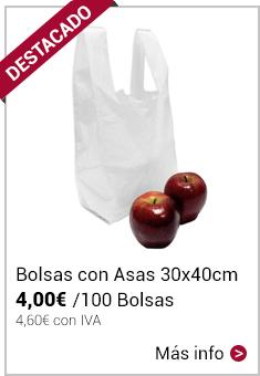 Bolsas con Asas 30x40cm