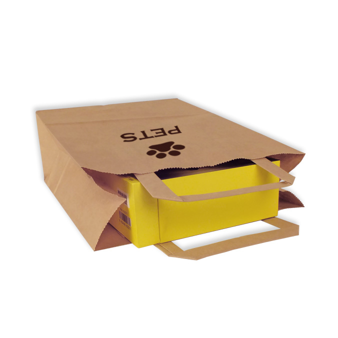 Bolsas de Papel Personalizadas 22+10x29cm